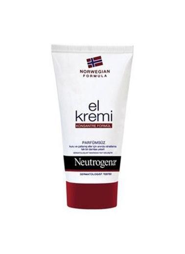 Neutrogena  El Kremi Parfümsüz 75ml Renksiz